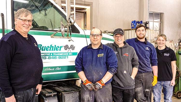 Buehler Automotive team